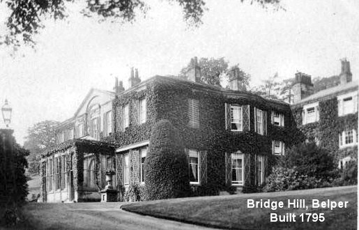Bridge Hill House, Belper, Derbyshire, UK
